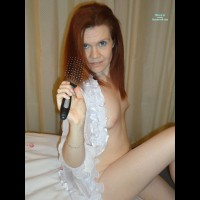Nude Me: Hairbrush Time