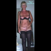 Amateur in Lingerie:Black Stockings