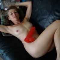Beca W/Big Red Toy
