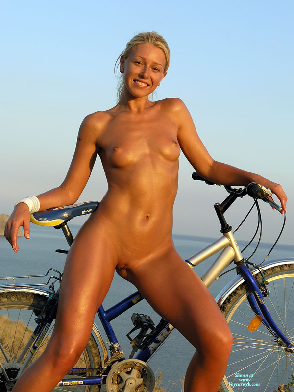 Nude Girl Standing With Bike - Blonde Hair, Shaved Pussy, Trimmed Pussy, Bald Pussy, Hairless Pussy, Looking At The Camera, Naked Girl, Nude Amateur, Sexy Face, Sexy Figure , Athlete, Amateur Photos, Clean Shaven, Sexy Little Tities, Tiny Tits, Shaved Bald, Pink Pussy, Bronzed Bike Babe, Full Body Tan
