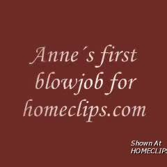 Anne´s First Bj In Homeclips