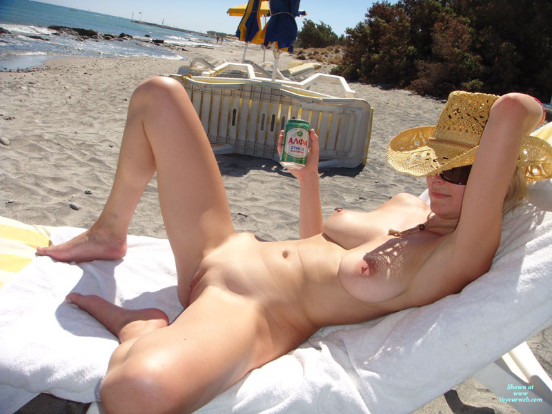 Pussy beach showing wife on
