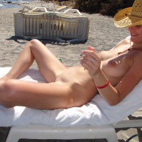 Nude Wife: Sasha On The Beach