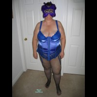 Topless Wife: Lady In Blue