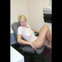 Co-Worker seethrough:Amy At Work