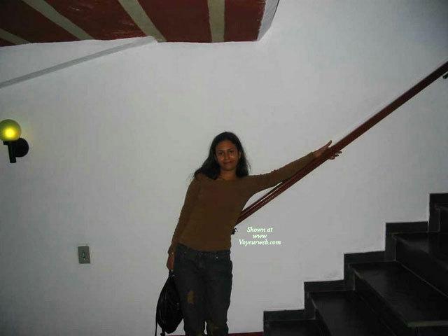 Pic #1 - My Indian Gf , Having Fun