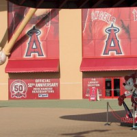 Nude Me on heels: Li'l φhi At Angels Stadium