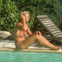 Naked On The Pool