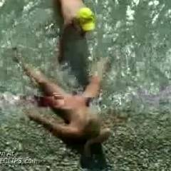 Horny Lovers Caught On Nude Beach