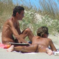 Pair At Spain Beach