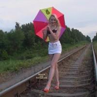 A Hot Railway Stripper