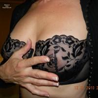 Topless Me:Molly Az New Lingerie