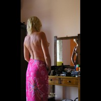 Topless Blonde - Perky Tits, Topless Blonde