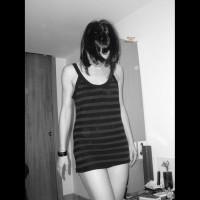 Pantieless Girlfriend:Teasing
