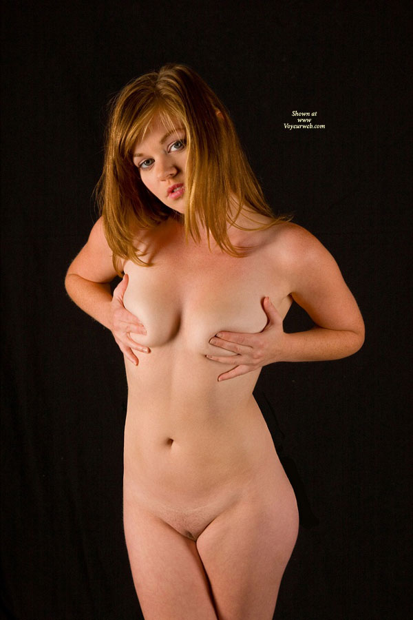 up woman covering Amateur naked