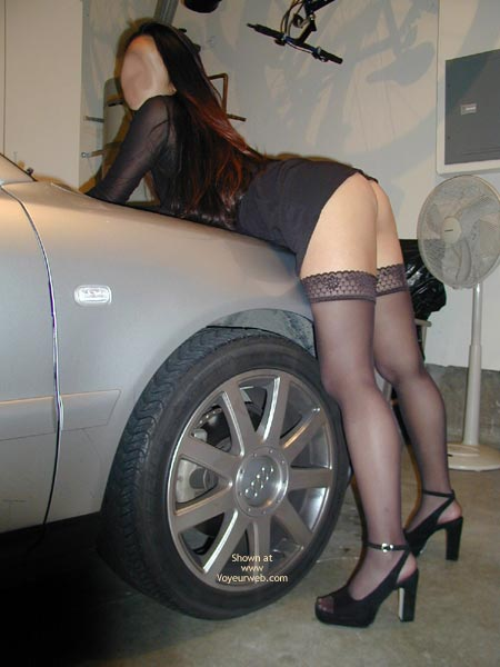 Pic #3 - Sexy Asian In Heels And Thighhighs