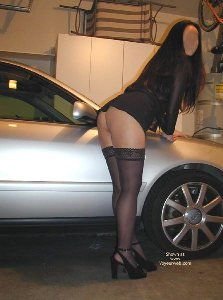 Pic #4 - Sexy Asian In Heels And Thighhighs