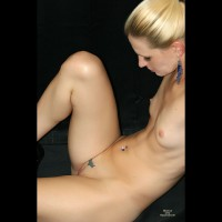 Full Body Closeup Of Slender Shaved Blonde - Blonde Hair, Shaved Pussy, Small Tits, Bald Pussy, Nude Amateur