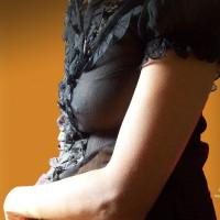 Indian Slim Beauty - Blackish Transparency