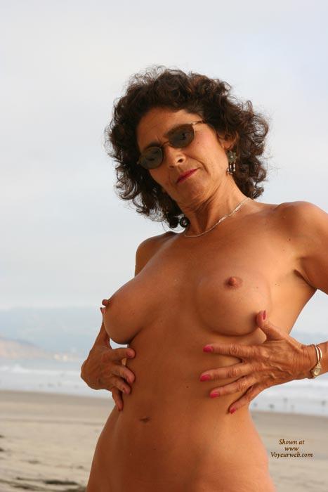 Pic #1 - Hard Nipples - Erect Nipples, Hard Nipple, Mature, Naked On Beach, Nude Beach , Hard Nipples, On The Beach, Feeling Her Body, Erect Nipples, Mature, Naked On Beach, Nipples On The Beach