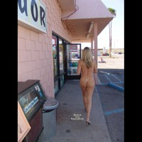 Chance Of Being Seen - Blonde Hair, Nude In Public, Nude Outdoors