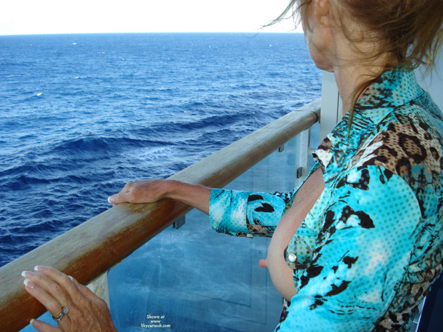 looking at the blue water