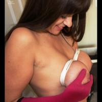 Breast Bondage - Bondage, Brunette Hair
