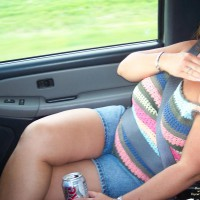 Bbw Milf In Car Pt. 3