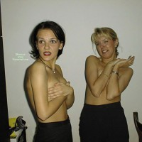 Topless Wife And Friend - Topless, Hot Wife, Topless Wife