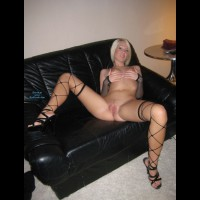 More Me On Leather Sofa