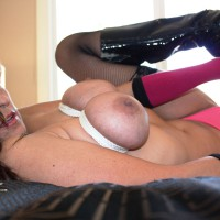 Tit Bondage - Spread Legs, Nude Amateur