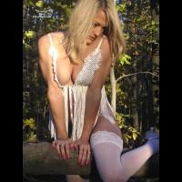 Sqeezed Together - Blonde Hair, Stockings