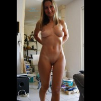 Nude Ex-wife Smiling - Blonde Hair, Milf, Perfect Tits, Shaved Pussy, Nude Amateur, Nude Wife