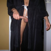 Cock Tied Up And Rock Hard