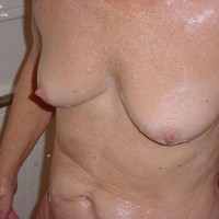 Perkie In The Shower