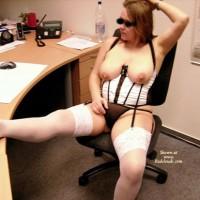 Franzi In The Office