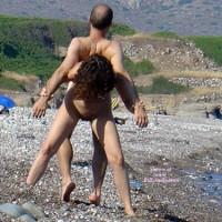 Beach Gymnastics In Greece