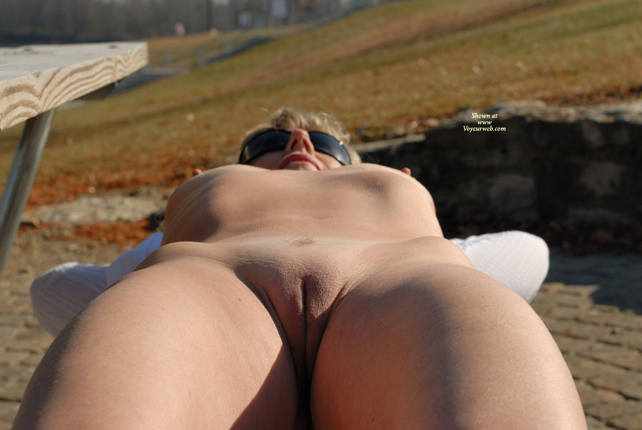 Nude Wife - Milf, Shaved Pussy, Bald Pussy, Naked Wife, Nude Amateur, Nude Wife , Teasing Position, Lying Back Pussy View, Perky Nipples Smooth Pussy Benched, Womanly Curves On A Cool Spring Day, Bald Outer Labia, Milf Laying In Waiting, Legs Slightly Apart, Cute Pussy Lips, Sunning Herself On Picnic Bench