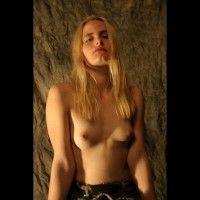 Beautiful Young Topless Blonde - Blonde Hair, Perky Tits, Small Breasts, Small Tits, Topless