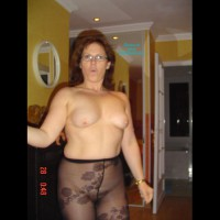 Clotilde In Pantyhose