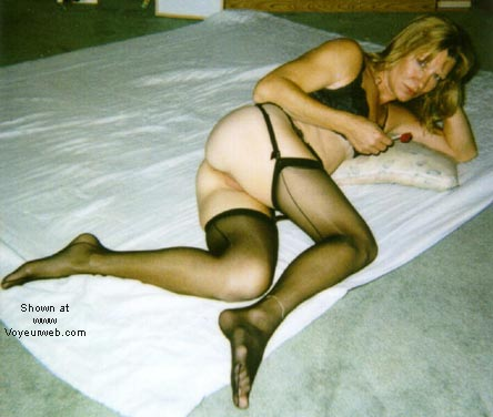 Pic #2 - Eve in Stockings