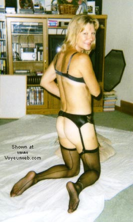 Pic #3 - Eve in Stockings