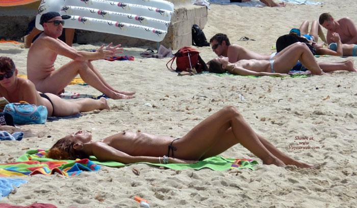 Pic #1 - Best Tits In Maiorca 2010... My Opinion! , I'm A BOOBS MANIAC..right! I Have No Problems With Aediphus/mommy BUT I Love BOOBS! Enjoy My Photos And Please Vote ! Ps Yes Friends Spain&France Are Fkk/Naturism/free Love Leaders In The World...my Dearest Italy...no...is Too Near To Vatican! Free Fkk 0with Free Sex In A FREE WORLD For All Mankind! Ps2 Losers--please Not Dirty My Photos With Your Insults Losers!