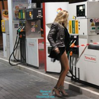 At The Petrol Station...