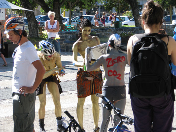 Pic #1 - Cape Town Naked Bike Ride 12 March 2011 , As Far As I Can Establish, This Is Cape Town's First Naked Bike Ride
