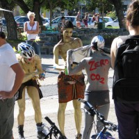 Cape Town Naked Bike Ride 12 March 2011