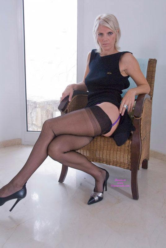 more  nylon  leg