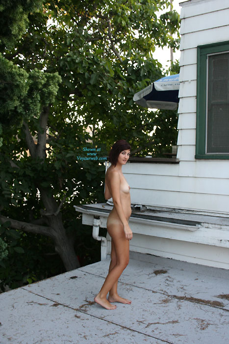Nude Girl On Rooftop - Brunette Hair, Naked Girl, Nude Amateur , Cleaning Out The Gutters, Nude Co-worker, Barefot, Roof Top Delivery, Cute Brunette, Roof Fairey, Small And Curvy, Nude Gutter Maid, Flaunting It To The Neighbors, Roof Top Sex, Cleaning Gutters