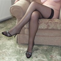 Mature Lady Getting Them Off... Part 2