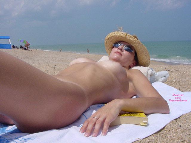 Ina At The Nude Beach - April, 2011 - Voyeur Web-5177
